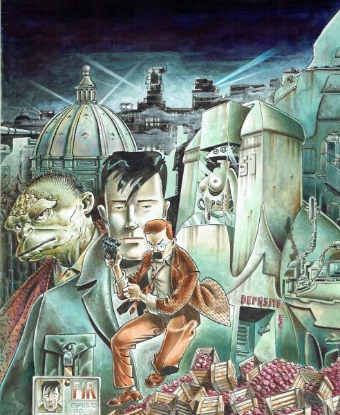 Copertina l'Eternauta 1988 di Rodolfo Torti
